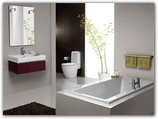 Check out our range of bathroom suites