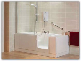 Check out our Easy Access Bathrooms that are designed to meet your needs