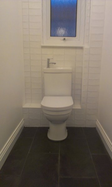 Cloakroom Toilet And Basin Projects Bathroom Matters Exeter Devon Torquay Dorset Paignton